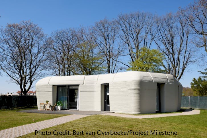 Europe's First 3-D Home